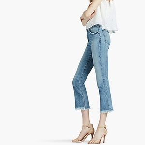🍀Lucky Brand high rise cropped jeans